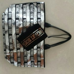 Victoria's Secret VS Bling Tote Bag and makeup bag